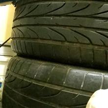 シビックType-R純正18インチ タイヤ付きホイール4本 灰色 6万で売ります