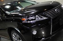 スターライトブラックガラスフレーク!綺麗な塗装ですね!LEXUS・RX450hのガラスコーティング【リボルト沖縄】