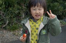 ゲリラキャンペーン待機中にイチゴ食い放題で手に入れた^^