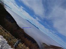 No.1 チェリーパークラインより御嶽山を望む。