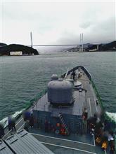 護衛艦クルージング