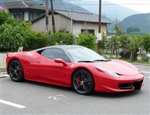 Ferrari458Italia in Kyoto Oohara Japan 2013.6.25