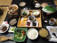 別所温泉「上松屋」さんの13日の夕食と14日の朝食(別所温泉6)