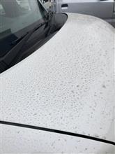 洗車をしたいが・・・