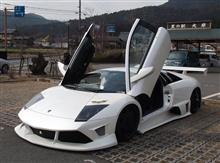 Lamborghini LP620 in Kyoto Oohara, Japan. 2014.01.28