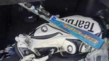GolfからSkiに予定変更。