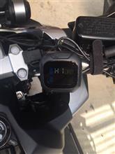 タイヤの空気圧、温度計を付けてみました。
