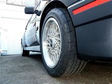 タイヤの衣替え と 2桁ナンバー