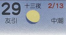 月暦 3月29日(木)