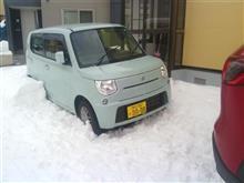 北海道特有、屋根の雪下ろし・・・続き