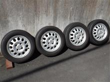 中古タイヤの処分はどうしようか。