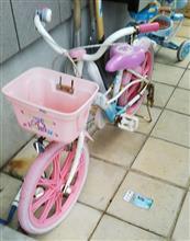 子供の自転車整備