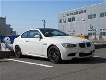 更なる走りを...BMW E92 M3 WALTZ FORGED S5-R+ミシュランSS