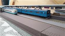 息子と鉄道模型