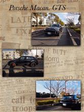1カ月ぶりの投稿             我が家のマカンGTSの車撮影 in 六甲アイランド