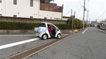 最近はヤクルトも電気自動車で、、