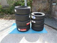 タイヤ交換するよ。