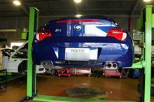 BMW E86 Z4M 3回目の車検整備