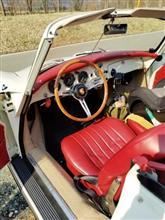 先週アルピナと旧車ポルシェ356Bとベンツワゴンの方が来店です