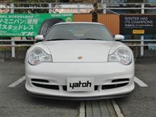 ポルシェ911 GT3のタイヤ交換