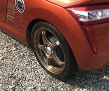 生産中止のタイヤを8本買い込む⚠️