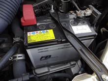 交差点の右折待ちでエンストされるのは困るので、バッテリーを交換しましょう。(*´・д・)ネー