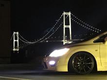 室蘭の白鳥大橋まで行って来ました(^^)