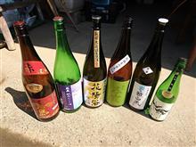 最近呑んだ日本酒と赤霧島