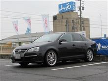 サスペンションリフレッシュ 2順目 JETTA5 ビルシュタインB14車高調整キット