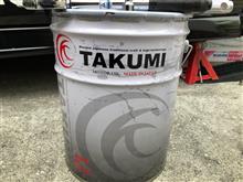 TAKUMI  X-TREME エンジンオイル交換