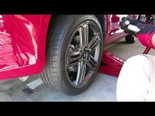 YouTubeにタイヤ交換の動画をアップしました。