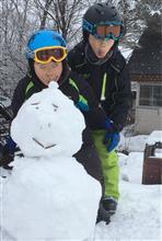 たぶん今シーズン最後の家族スキー