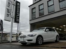 BMW「1シリーズ(F20)」にソニックプラスを取付しました。