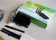 自作パソコンにTP-Link内蔵型無線LANアダプターを増設~