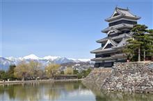 桜が咲く前に近場をロケハン 「松本城 と 弘法山」 180324