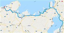 4/14 バイクで若狭湾に行きたいてっよ。 ルート研究
