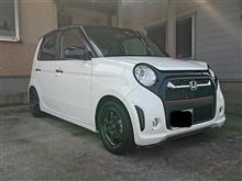 3月のN-ONE(タイヤ交換~洗車)