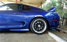 タイヤ交換、洗車