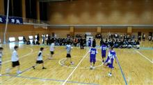 息子バスケ練習試合大会