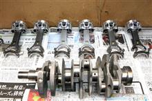 クルーズ R35 VR38改4,3LKit組立開始!