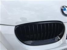 BMW525iMスポーツ グリル交換 BMW純正 ブラック・フロント・キドニー・グリルE60/E61用