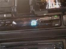 エアコンのセンサー値表示モードで走ってみました。