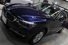 「これからも3シリーズとともに」BMW 320dグランツーリスモのガラスコーティング【リボルト郡山】