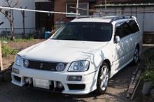洗車した。