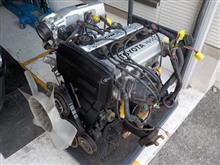 AE86 後期3ドア トレノGT-V フルレストア その7「エンジンメンテ」