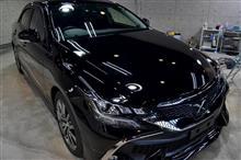 トヨタのFRエントリースポーツセダン トヨタ・マークXのガラスコーティング【リボルト高崎】