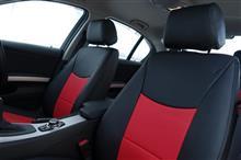 E90 ブラック+赤色 シートカバーのオーナー様と再開の巻