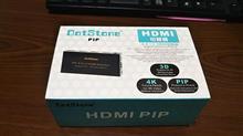 4K 解像度対応 4in 1 HDMI セレクタ買ってみました。