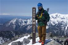 残雪の西穂高岳独標に登ってみた!