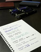No.129 インク入れ替え作業